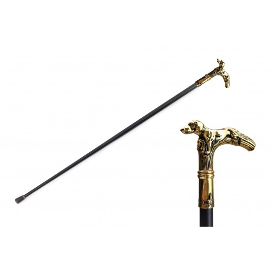 DOG WALKING CANE SWORD 34.5'' OVERALL