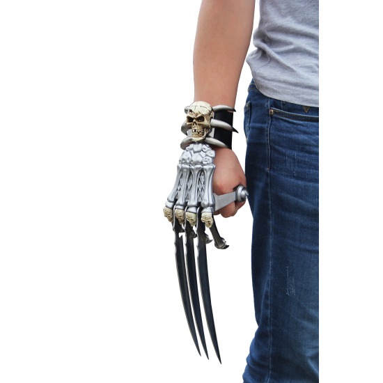 """17"""" POLYRESIN AND METAL HAND CLAW (12/1)"""