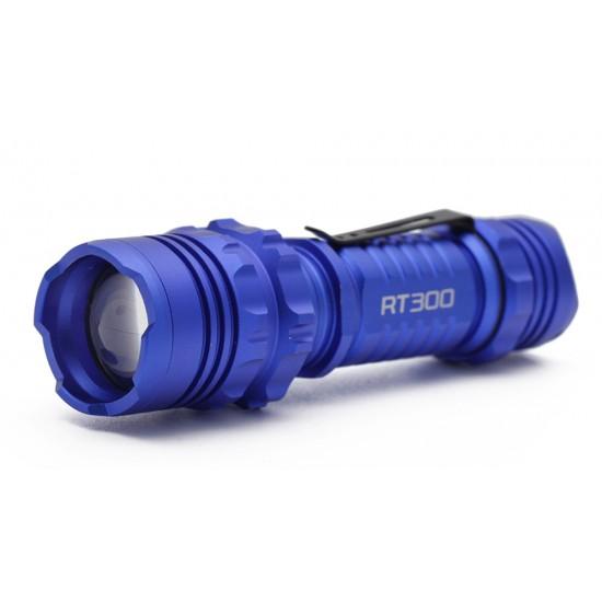 TACTICAL FLASHLIGHT 300 LUMENS ULTRA BRIGHT LED