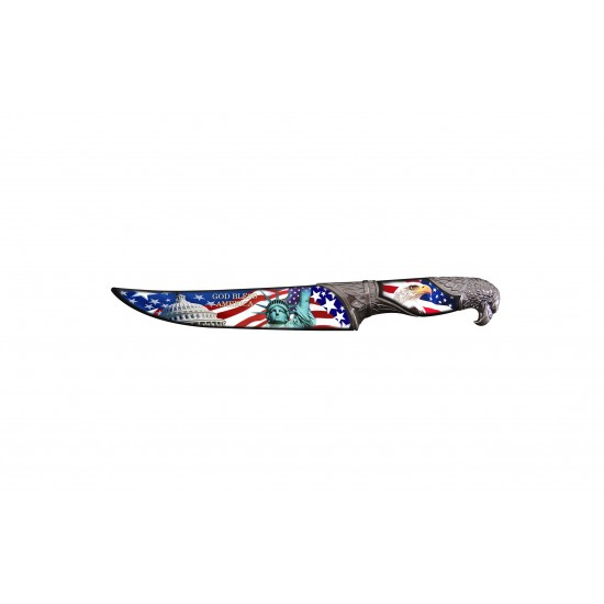"""HUNTING  KNIFE 13.5"""" WITH SCABBARD (60/cs)"""