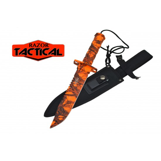 14.5'' SURVIVAL KNIFE WITH SHEATH AND KIT