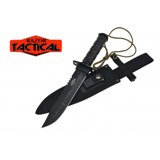 SURVIVAL KNIFE WITH SHEATH AND KIT