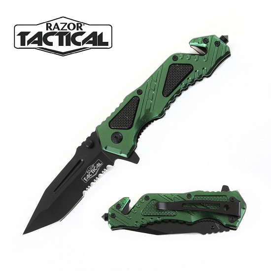 Spring Assisted Knife w/ Metal Handle