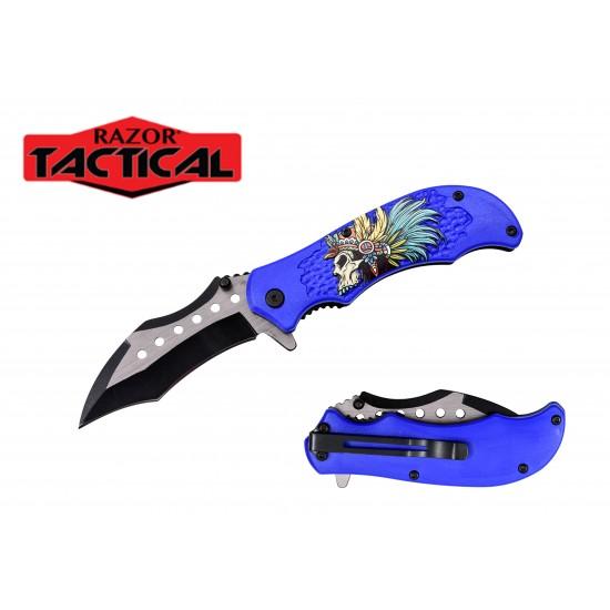 """4.5"""" Spring Assist Pocket Knife"""
