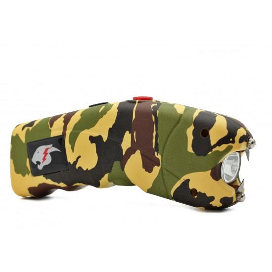 Cheetah Cyclone Stun Gun w/ Alarm, Camo  (100/cs)