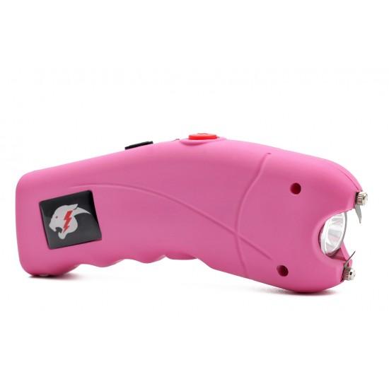 Cheetah Cyclone Stun Gun w/ Alarm, Pink (100/cs)