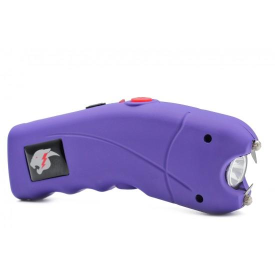 Cheetah Cyclone Stun Gun w/ Alarm, Purple (100/cs)