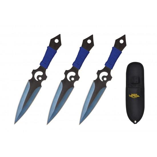 """7.5"""" 3pcs Set Throwing Knife Set"""
