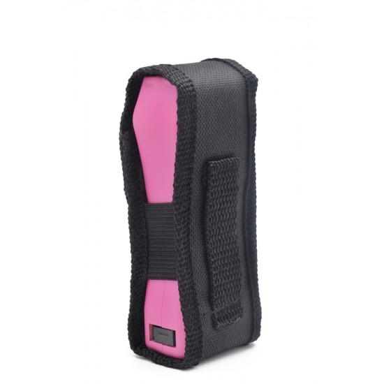 PRIDE SLIM MAX POWER  STUN GUN PINK (BLISTER PACK)  (90/CS)