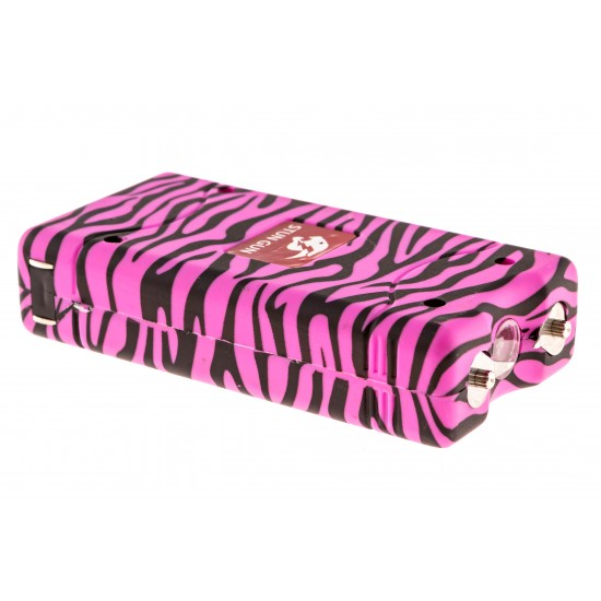 Pink Zebra Max Power Mini Stun Gun